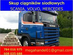 Scania 124 SKUP ciągników siodłowych Scania, Volvo, Mercedes