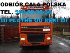DAF 95XF SKUP DAF 95 85 ATI XF 360 380 430 480 ZF GOTÓWKA !