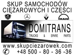 Mercedes Actros SKUP CIĄGNIKÓW SIODŁOWYCH VOLVO RENAULT MERCEDES