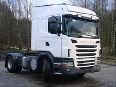 Scania z hydrauliką