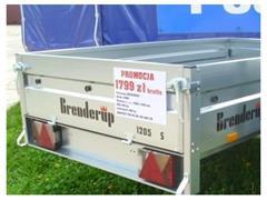 Brenderup Przyczepa 1205s NOWA ANMAR