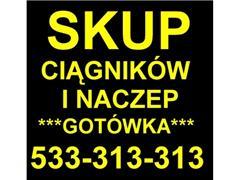 SKUP CIĄGNIKÓW SIODŁOWYCH 1985-2006r. ZA GOTÓWKĘ.