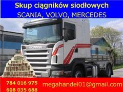 Mercedes Actros SKUP ciągników siodłowych Scania, Volvo, Mercedes