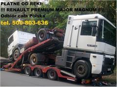Renault Magnum SKUP MAJOR MAGNUM PREMIUM MAXTER  350 385 420 400