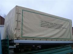 MERCEDES Skrzynia ładunkowa zabudowa LT