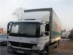 Mercedes Atego 1222 skrzyniowy Salon POLSKA
