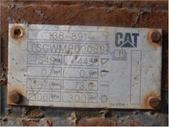 ŁYZKA DO ŁADOWARKI CAT 906 DZIELONA