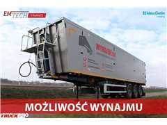 mega Wywrotka aluminiowa 50m3 klapo-drzwi LIGHT PLUS