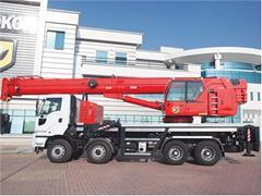 Dźwig mobilny HIDROKON HK 120 33 T3 - 40 ton