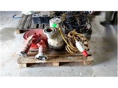 Pompa do wykopów wraz z osprzętem