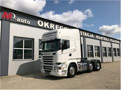 Scania R450 EURO6 6x2/4 STREAMLINE 65000km!!!