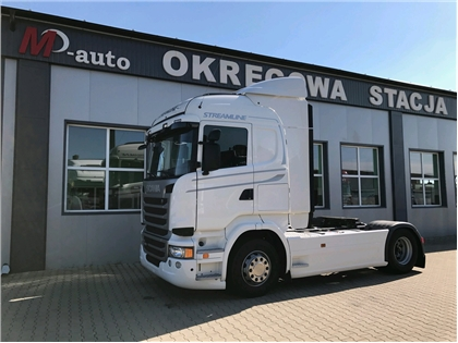 Scania R410 EURO6 HIGHLINE STREAMLINE