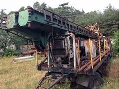 Wiertnia H4. Drilling rig H4. Буровая установка H4