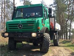Mercedes Benz Unimog U4000 + PALFINGER PK 6500A