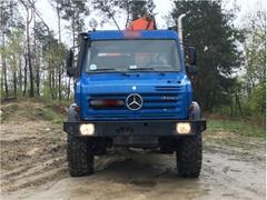 Mercedes Benz Unimog U4000 + PALFINGER PK 12000B