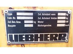 Ładowarka kołowa LIEBHERR L 506