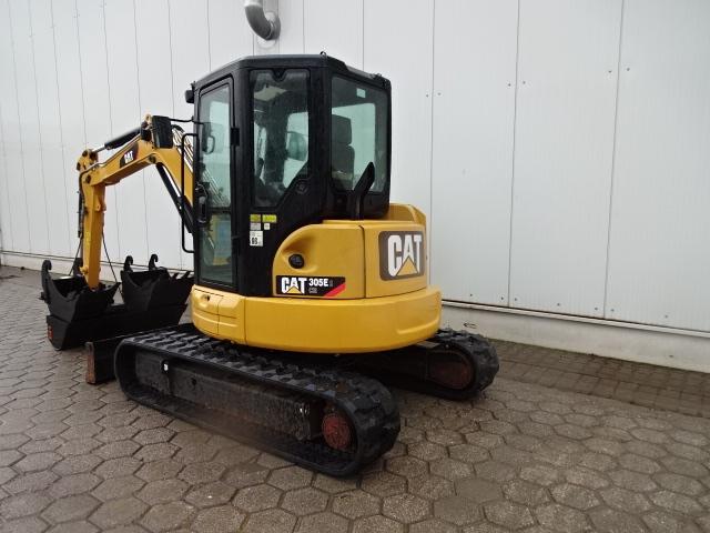 CATERPILLAR CAT 305 E2 :: Minikoparki - maszyny budowlane