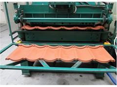 DOFAK Maszyna do produkcji blaszanych pokryć dacho