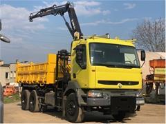 Renault Kerax 6x4 + hds Hiab