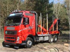 Volvo FH13 500 6X4 do przewozu drewna stosowego