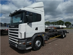MAN SCANIA - R124.400 6X2 MANUAL RETARDER