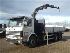 Scania - P113.320 MEILLER CRANE