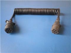 Przewód spiralny 7 pinowy do łączenia zespołów poj