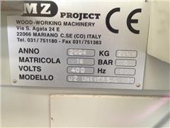 MZ project universal 013 Piła taśmowa hydrauliczna