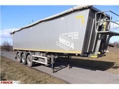 mega Wywrotka Aluminiowa 45m3 Klapo-Drzwi LIGHT PLUS