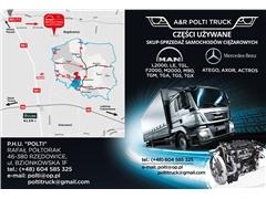 Instalacja silnika MAN L2000 163,224