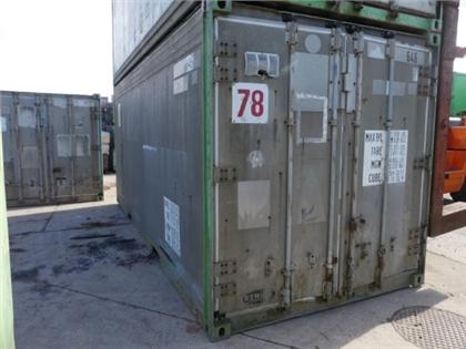Maritime Container 20 Feet Aluminum STRICK ARMORPL