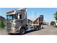 Scania Scania R560 6x4 HDS Loglift 125 – Ciężarowe do las