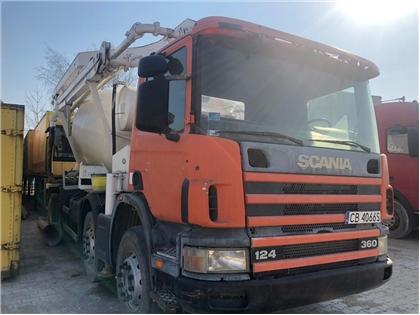 Scania SCANIA 124- 360 POMPOGRUSZKA
