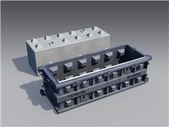 Formy do bloków kostek betonowych beton block