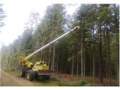 Jarraff Sky Trim – maszyna do wycinki gałęzi