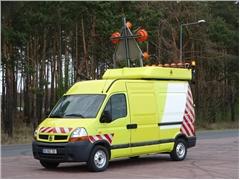 Renault MASTER Zamontowana Sygnalizacja ostrzegawcza