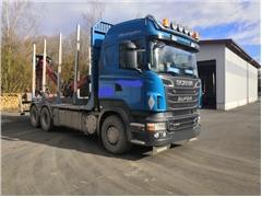 Scania V8 R560 do drewna