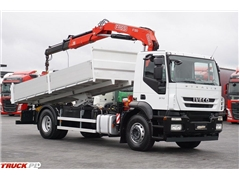 iveco STRALIS / 190S31 / WYWROTKA + HDS FASSI 130 / MANU