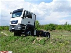 MAN TGS 4X4 18.400 Ciągnik siodłowy HydroDrive Hydraul