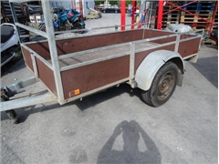 Trailer Single Axle ANSSENS VHW braked 1300 kg