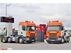 Scania R 450 / 6x2 / PUSHER / RETARDER / HIGHLINE / OŚ SK