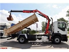Iveco STRALIS 310 / 4X2 / 3 STR. WYWROTKA + HDS FASSI F1
