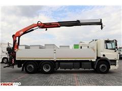 daf CF 85.360 / 6X2 / HDS PALFINGER PK 15500 / ROTATOR