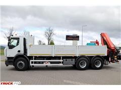 renault KERAX 370 DXI /6X4/ SKRZYNIOWY -6,5 M + HDS PALFIN