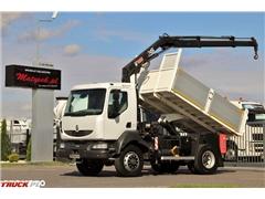 Renault MIDLUM 180 / 4X4 / WYWROTKA + HDS HIAB 099 / STARE