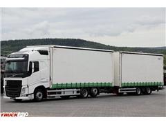 Volvo FH 500 / XL / ZESTAW PRZEJAZDOWY 120 M3 / 2017 R /
