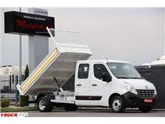 Renault MASTER 2.3 125 KM / WYWROTKA / DOKA - 7 MIEJSC / B