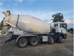 MAN TGS 41.460 8x4 460 PS Euro 6 betonomieszarka