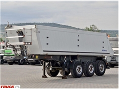 schmitz-cargobull WYWROTKA 26 M3 / OŚ PODNOSZONA / MULDA ALUMINIOWA
