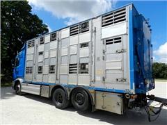 Sam. Ciez. do transportu zwierząt -SCANIA R620 V8